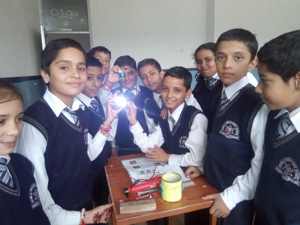 Science Experiment Shimla Presidency School