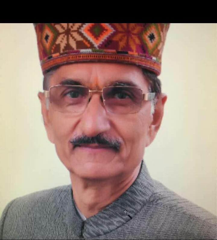 chairman of shimla presidency school